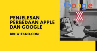 Penjelesan Perbedaan Apple Dan Google