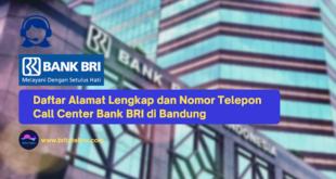 Call Center Bank BRI di Bandung