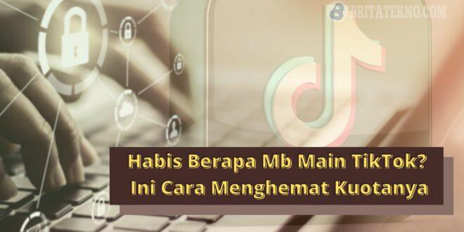 Berapa Mb Main TikTok